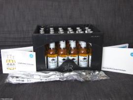 Schoeffer Hofer Eiskristall Kiste ausgepackt